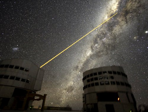 VLT, laser and Galactic Centre