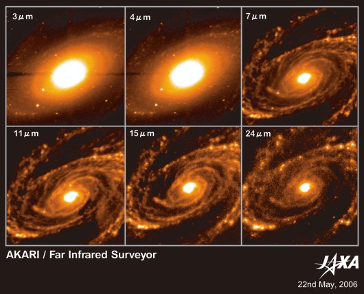Near- and mid-infrared images of the galaxy M81