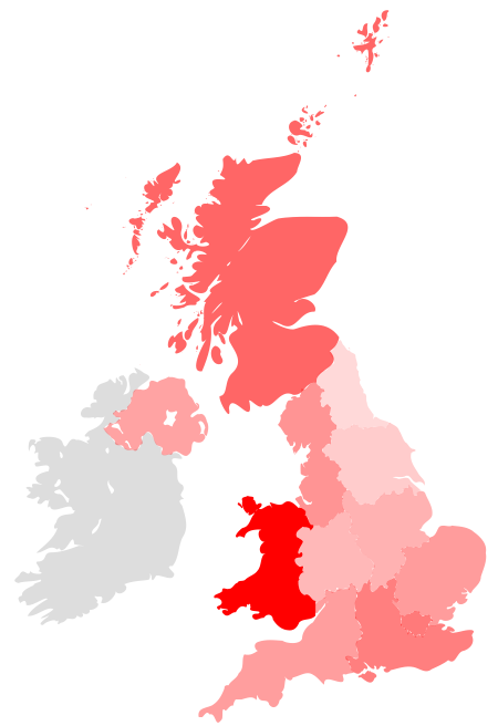 UK map of STFC funding