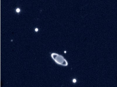 Uranus and moons seen by VLT