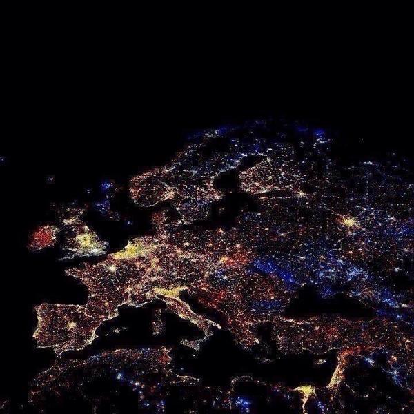 Faked satellite image